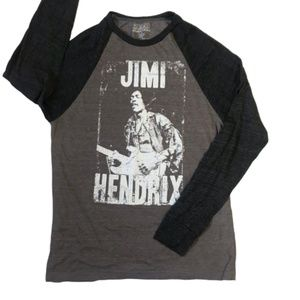 Ripple Junction Jimmy Hendrix Baseball Tee T-Shirt